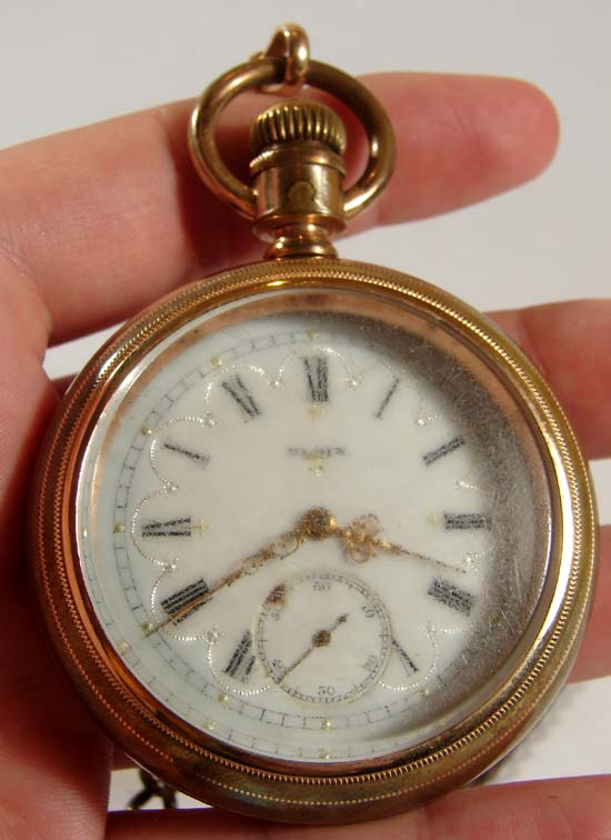 Antique Elgin Pocket Watch How To Open The Case T The Ebay